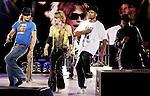 Kid Rock, Steven Tyler (Aerosmith) and Run DMC<br /> <br /> PNC Bank Arts Center<br /> Holmdel, New Jersey<br /> <br /> 8/14/2002<br /> <br /> MARK R. SULLIVAN/MARKRSULLIVAN.COM © 2002