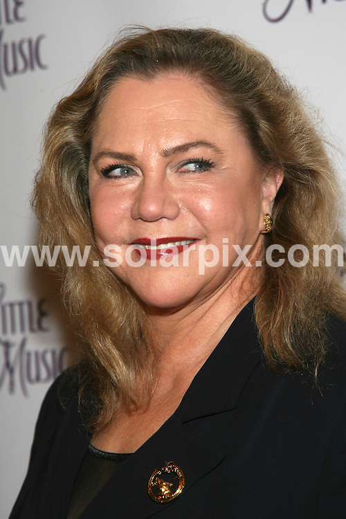 """**ALL ROUND PICTURES FROM SOLARPIX.COM**.**SYNDICATION RIGHTS FOR UK, AUSTRALIA, DENMARK, PORTUGAL, S. AFRICA, SPAIN & DUBAI (U.A.E) ONLY**.arrivals for the opening night of """"A Little Night Music"""" at the Walter Kerr Theatre,  West 48th Street, New York City, NY, USA. 13 December 2009..This pic: Kathleen Turner..JOB REF: 10391 PHZ Gaboury   DATE: 13_12_2009.**MUST CREDIT SOLARPIX.COM OR DOUBLE FEE WILL BE CHARGED**.**MUST NOTIFY SOLARPIX OF ONLINE USAGE**.**CALL US ON: +34 952 811 768 or LOW RATE FROM UK 0844 617 7637**"""