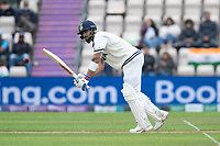 Virat Kohli, India flicks through the mid wicket area during India vs New Zealand, ICC World Test Championship Final Cricket at The Hampshire Bowl on 19th June 2021