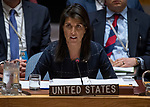 Security Council meeting:<br /> The situation in the Middle East<br /> Letter dated 26 October 2017 from the Secretary-General addressed to the President of the Security Council (S/2017/904)<br /> Letter dated 25 October 2017 from the Secretary-General addressed to the President of the Security Council (S/2017/905)<br /> Letter dated 30 October 2017 from the Secretary-General addressed to the President of the Security Council (S/2017/916)<br /> USA