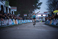 Toon Aerts (BEL/Telenet-Fidea) winning his first important pro victory<br /> <br /> Soudal Classic Leuven 2016