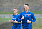 St Johnstone Training…31.07.19<br />Michael O'Halloran pictured during training ahead of Saturday's opening game of the season at Celtic Park.<br />Picture by Graeme Hart.<br />Copyright Perthshire Picture Agency<br />Tel: 01738 623350  Mobile: 07990 594431