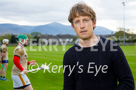 Donnacha Walsh the new physio with the Kerry senior hurlers