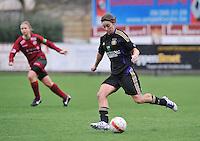 Dames Zulte - Waregem - RSC Anderlecht : Cynthia Browaeys.foto DAVID CATRY / VROUWENTEAM.BE