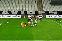 São Paulo (SP), 02/06/2021 - CORINTHIANS-ATLETICO-GO - João Paulo, do Atlético-GO em lance do segundo gol. Corinthians e Atlético-GO, a partida é válida pela terceira fase da Copa do Brasil, Neo Química Arena, quarta-feira (02).