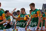 Paudie Clifford, Kerry, Stephen O'Brien, Kerry, after the Allianz Football League Division 1 Semi-Final, between Tyrone and Kerry at Fitzgerald Stadium, Killarney, on Saturday.