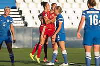Spain's Marta Torrejon during the match of  European Women's Championship 2017 at Leganes, between Spain and Finland. September 20, 2016. (ALTERPHOTOS/Rodrigo Jimenez) NORTEPHOTO
