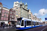 Nederland - Amsterdam - 2019. Het Damrak. Foto Berlinda van Dam / Hollandse Hoogte.