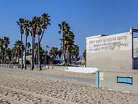 A nice day at Venice Beach Recreation Center, California.