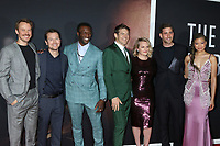 """LOS ANGELES - FEB 24:  Michael Dorman, Leigh Whannell, Aldis Hodge, Jason Blum, Elisabeth Moss, Oliver Jackson-Cohen, and Storm Reid at the """"The Invisible Man"""" Premiere at the TCL Chinese Theater IMAX on February 24, 2020 in Los Angeles, CA"""
