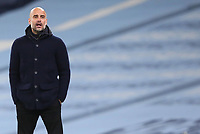 3rd November 2020; City of Manchester Stadium, Manchester, England. UEFA Champions League group stages, Manchester City versus Olympiacos;  Manchester City Trainer Josep Guardiola