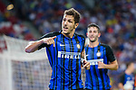 FC Internazionale Forward Stevan Jovetic celebrating his goal scored by penalty during the International Champions Cup 2017 match between FC Internazionale and Chelsea FC on July 29, 2017 in Singapore. Photo by Weixiang Lim / Power Sport Images