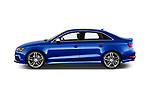 Car driver side profile view of a 2015 Audi S3 Premium Plus 4 Door Sedan
