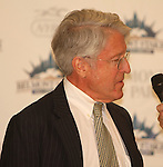 June 4, 2014:Robert Evans owner of Tonaist at post position draw at Belmont. Sue Kawczynski/ESW/CSM