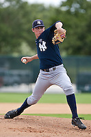 Bryan Mitchell of the Gulf Coast League Yankees at the ESPN Wide World of Sports Complex in Orlando, Florida July 23 2010. Photo By Scott Jontes/Four Seam Images