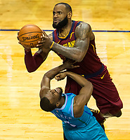 Photography of the Charlotte Hornets vs. The Cleveland Cavaliers at the Spectrum Center in Charlotte, North Carolina.<br /> <br /> Charlotte Photographer - PatrickSchneiderPhoto.com
