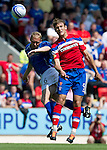 St Johnstone v Rangers... 30.07.11   SPL Week 2.Nikica Jelavic and Steven Anderson.Picture by Graeme Hart..Copyright Perthshire Picture Agency.Tel: 01738 623350  Mobile: 07990 594431