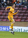 28/11/2009  Copyright  Pic : James Stewart.sct_jspa02_motherwell_v_dundee_utd  . :: JOHN SUTTON CELEBRATES AFTER HE SCORES MOTHERWELL'S FIRST :: .James Stewart Photography 19 Carronlea Drive, Falkirk. FK2 8DN      Vat Reg No. 607 6932 25.Telephone      : +44 (0)1324 570291 .Mobile              : +44 (0)7721 416997.E-mail  :  jim@jspa.co.uk.If you require further information then contact Jim Stewart on any of the numbers above.........