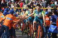 TUNJA - COLOMBIA, 11-02-2020: Equipo VINI ZABU - KTM (ITA) durante la primera del Tour Colombia 2.1 2020 que se correrá en Boyacá, Colombia entre el 11 y 16 de febrero de 2020. / Team VINI ZABU - KTM (ITA) during the launch of Tour Colombia 2.1 2020 that that will run between February 11 and 16, 2020 in Boyacá, Colombia.  Photo: VizzorImage / Darlin Bejarano / Cont