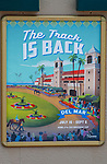 DEL MAR, CA  JULY 16:  Sign in front of ticket booths (Photo by Casey Phillips/ Eclipse Sportswire/CSM)