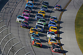 Monster Energy NASCAR Cup Series<br /> Alabama 500<br /> Talladega Superspeedway<br /> Talladega, AL USA<br /> Sunday 15 October 2017<br /> Clint Bowyer, Stewart-Haas Racing, Haas Automation Ford Fusion and Martin Truex Jr, Furniture Row Racing, Bass Pro Shops / Tracker Boats Toyota Camry<br /> World Copyright: Nigel Kinrade<br /> LAT Images