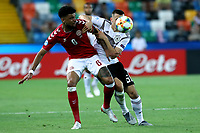 Philip Billing of Denmark , Maximilian Eggestein of Germany <br /> Udine 17-06-2019 Stadio Friuli <br /> Football UEFA Under 21 Championship Italy 2019<br /> Group Stage - Final Tournament Group A<br /> Germany - Denmark  <br /> Photo Cesare Purini / Insidefoto