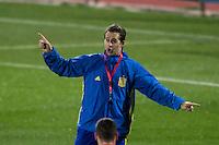 Spainsh coach Julen Lopetegui during the training of the spanish national football team in the city of football of Las Rozas in Madrid, Spain. November 08, 2016. (ALTERPHOTOS/Rodrigo Jimenez) ///NORTEPHOTO.COM