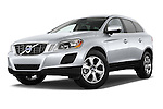 Low aggressive front three quarter view of a .2013 Volvo XC60