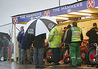 The Arena riders' bikes were destined to remain in the pits - Arena Essex vs Oxford Cheetahs - Elite League 'A' - Meeting Abandoned - 24/05/06 - (Gavin Ellis 2006)