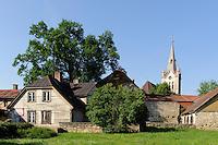 Sv.Jana baznica (Johanniskirche) von 1281 in Cesis, Lettland, Europa