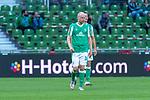 19.09.2020, wohninvest Weserstadion, Bremen, GER,  SV Werder Bremen vs Hertha BSC Berlin, <br /> <br /> <br />  im Bild<br /> <br /> enttäuscht / enttaeuscht / traurig / Niederlage / dissapointed<br /> Davy Klaassen (Werder Bremen #30)<br /> Querformat<br /> <br /> Foto © nordphoto / Kokenge<br /> <br /> DFL regulations prohibit any use of photographs as image sequences and/or quasi-video.