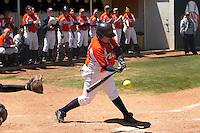 SAN ANTONIO, TX - APRIL 14, 2007: The Northwestern State University Demons vs. The University of Texas at San Antonio Roadrunners Softball at Roadrunner Field. (Photo by Jeff Huehn)