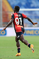 esultanza gol Yayah Kallon <br /> during the Italy cup football match between Genoa CFC and Perugia at Stadio Marassi in Genova (Italy), August 13th, 2021. Photo Image Sport / Insidefoto