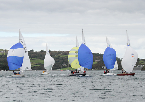 You may see the Dragons racing at Glandore, but veteran skipper Don Street also sees a useful sail training flotilla