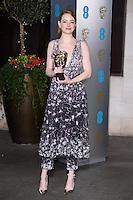 Emma Stone<br /> at the 2017 BAFTA Film Awards After-Party held at the Grosvenor House Hotel, London.<br /> <br /> <br /> ©Ash Knotek  D3226  12/02/2017