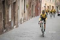 Antwan Tolhoek (NED/Jumbo-Visma)<br /> <br /> Team Jumbo-Visma race reconnaissance 1 day prior to the 13th Strade Bianche 2019 (1.UWT)<br /> One day race from Siena to Siena (184km)<br /> <br /> ©kramon