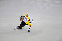 OLYMPIC GAMES: PYEONGCHANG: 10-02-2018, Gangneung Ice Arena, Short Track, ©photo Martin de Jong
