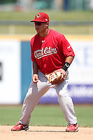 Quad Cities River Bandits second baseman Kolten Wong #12 during a game against the Lake County Captains at Classic Park on July 21, 2011 in Eastlake, Ohio.  Lake County defeated Quad Cities 16-15.  (Mike Janes/Four Seam Images)