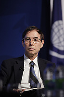 Naoyuki Yoshino, <br /> Dean, Asian Development Bank Institute (ADBI)<br /> attend the International Economic Forum of the Americas 20th Edition, from June 9-12, 2014 <br /> <br />  Photo : Agence Quebec Presse - Pierre Roussel