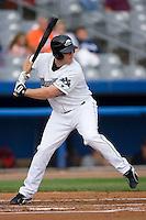 Connecticut first baseman Tyler Von Schell (29) at bat versus Harrisburg at Dodd Stadium in Norwich, CT, Wednesday, August 22, 2007.