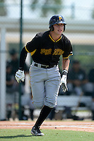 Pittsburgh Pirates shortstop Jacoby Jones (54) during an Instructional League game against the New York Yankees on September 18, 2014 at the Pirate City in Bradenton, Florida.  (Mike Janes/Four Seam Images)