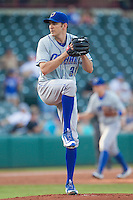Omaha Storm Chasers pitcher John Lannan (31) on the mound during a game against the Oklahoma City Dodgers at Chickasaw Bricktown Ballpark on June 16, 2016 in Oklahoma City, Oklahoma. Oklahoma City defeated Omaha 5-4  (William Purnell/Four Seam Images)