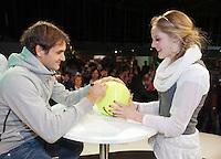 13-02-12, Netherlands,Tennis, Rotterdam, ABNAMRO WTT, Signing Frederer