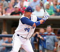 Durham Bulls Kevin Witt during the home run derby before the Triple-A All-Star Game at Fifth Third Field on July 10, 2006 in Toledo, Ohio.  (Mike Janes/Four Seam Images)