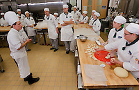 Students at Johnson & Wales University get hands-on practice in culinary arts. The Charlotte campus, shown here, is home to more than 2,500 students from 46 states and 15 foreign countries.
