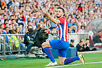 Saul Niguez Esclapez of Atletico de Madrid reacts during their La Liga match between Atletico de Madrid and Sevilla FC at the Estadio Vicente Calderon on 19 March 2017 in Madrid, Spain. Photo by Diego Gonzalez Souto / Power Sport Images