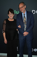 """NEW YORK CITY - OCTOBER 4: Ann Dowd and Larry Arancio attends the red carpet premiere of Hulu's """"DOPESICK"""" at the Museum of Modern Art on October 4, 2021 in New York City. . (Photo by Ben Hider/Hulu/PictureGroup)"""