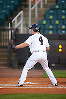 Jackson Generals right fielder Tyler O'Neill (4) at bat during a game against the Jacksonville Suns on May 4, 2016 at The Ballpark at Jackson in Jackson, Tennessee.  Jackson defeated Jacksonville 11-6.  (Mike Janes/Four Seam Images)