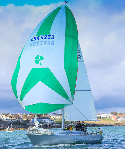 Conor Fogerty's Silver Shamrock is one of the first entries into VDLR's 2021 double-handed division Photo: Afloat