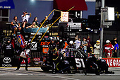 #51: Brandon Jones, Kyle Busch Motorsports, Toyota Tundra Delta Faucet/Menards makes a pit stop, Sunoco